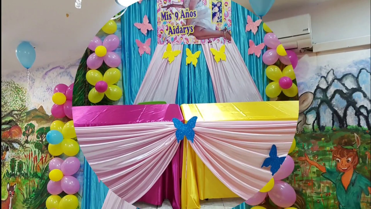 Decoracion party soy luna fiesta youtube - Sol y luna decoracion ...