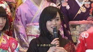 山本彩 Yamamoto Sayaka 新成人・NMB48山本彩の「酔いつぶす」発言に賛...