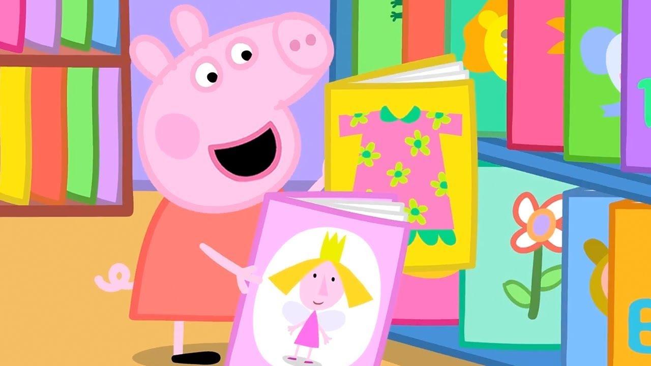 Peppa Pig Italiano - La biblioteca  - Collezione Italiano - Cartoni Animati
