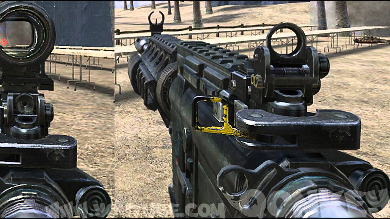 Black Ops 2 GUNS Vs MW3 REAL