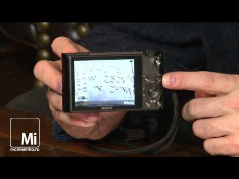Sony DSC-RX100.  Мегапиксели в кармане.