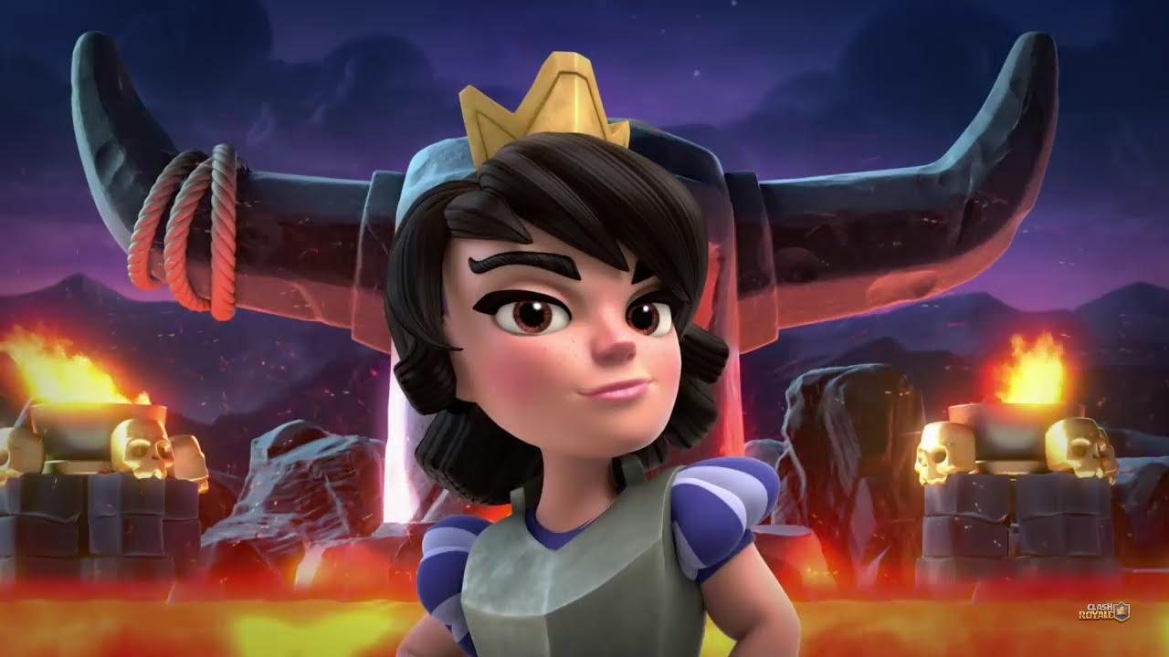 Wallpaper Engine Gun Anime Girl Clash Royale Princess Got It Song The Princess Youtube