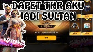 DAPET THR LANGSUNG JADI SULTAN WKWK (FREE FIRE INDONESIA)