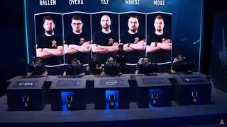 Virtus pro vs Aristocracy ESL Mistrzostwa Polski Finał 2019 CS GO Pierwsza mapa de mirage