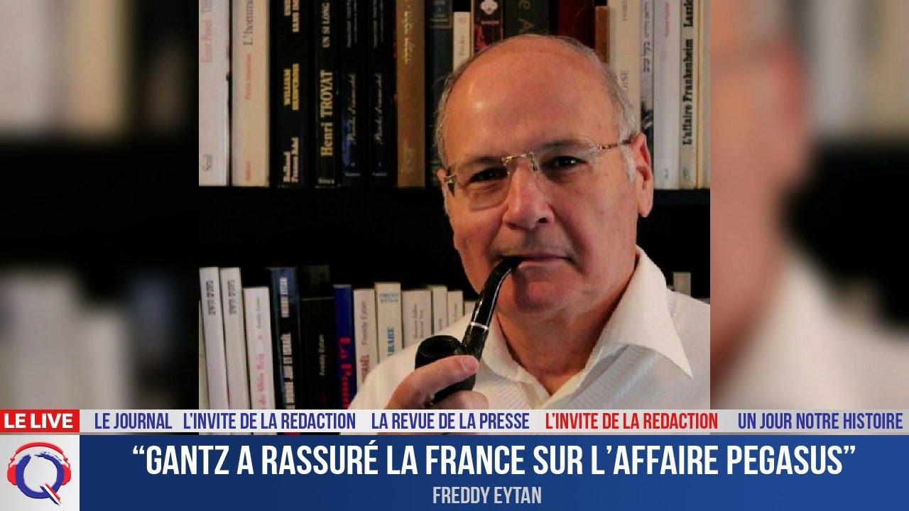 """""""Gantz a rassuré la France sur l'affaire Pegasus"""" - L'invité du 29 juillet 2021"""