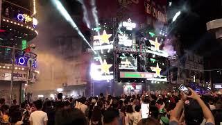 SAIGON NIGHTLIFE- BUI VIEN STREET TRANSFORMED FOR ONE NIGHT. HO CHI MINH CITY, VIETNAM