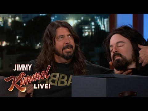 Kinard - Dave Grohl on Kimmel