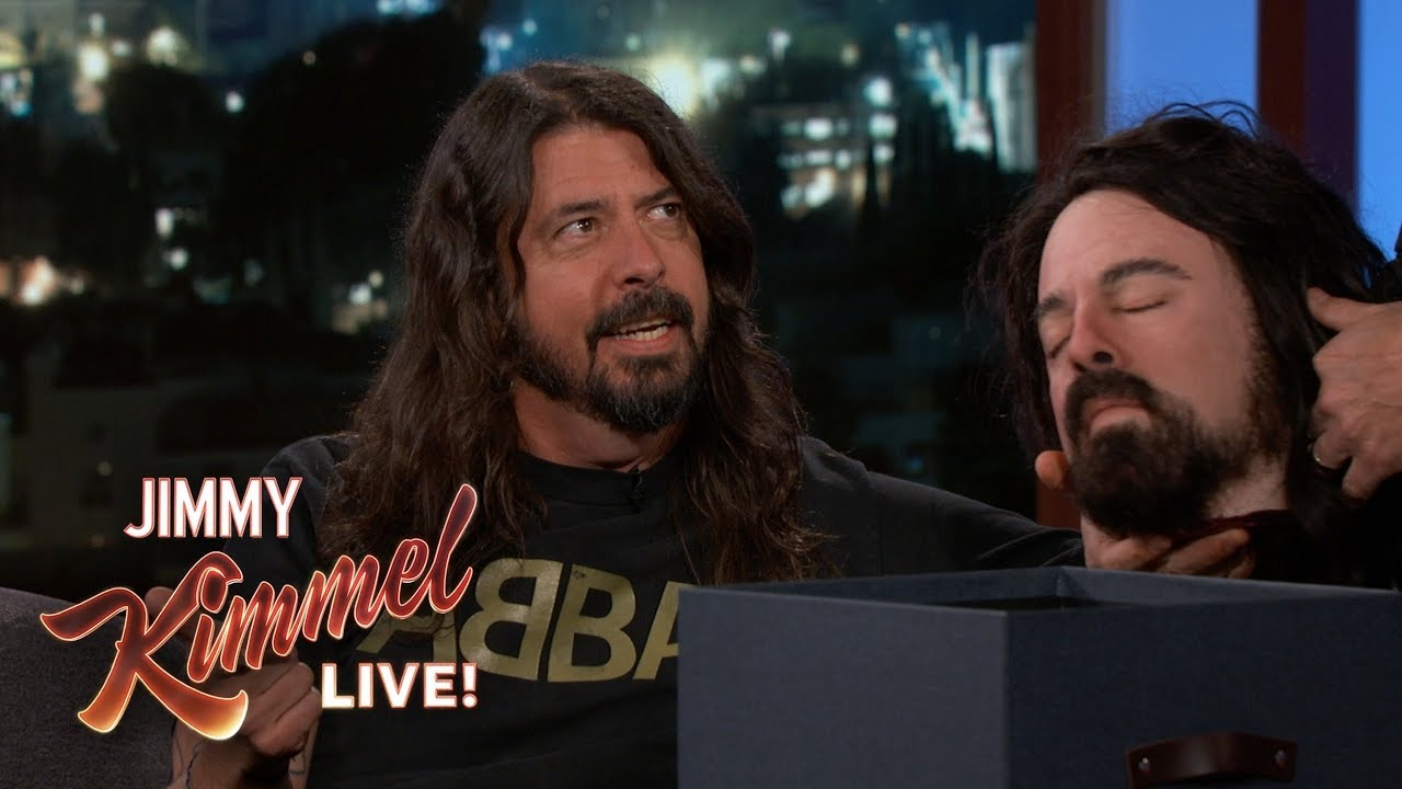 dave-grohl-gives-jimmy-kimmel-a-very-disturbing-gift