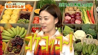 3月14日(木) よる8時『ニンゲン観察バラエティ モニタリング 』 ☆平野レ...