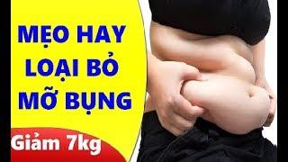 Gambar cover Cách làm tan mỡ bụng hay nhất, giảm 7 kg sau 1 tuần