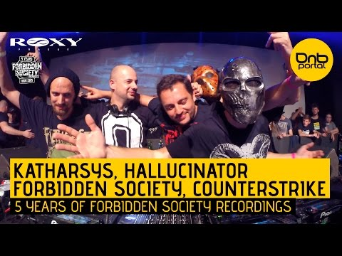 Katharsys, Hallucinator, Forbidden Society & Counterstrike - 5 Years FS Recordings [DnBPortal.com]