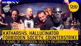 Katharsys, Hallucinator, Forbidden Society & Counterstrike - 5 Years FS Recordings [DnBPortal.com]