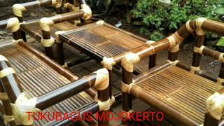 44 Model Kursi Bambu Minimalis HD Terbaru