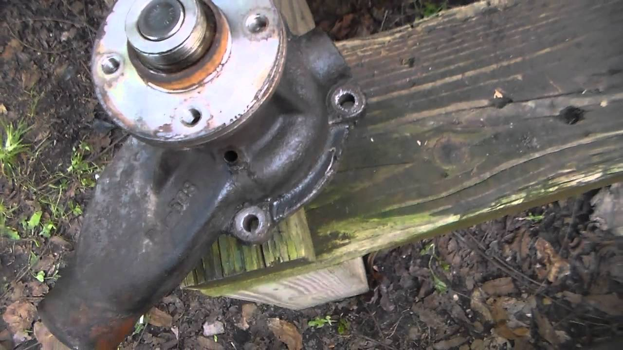 hight resolution of blue f150 water pump replacement part one