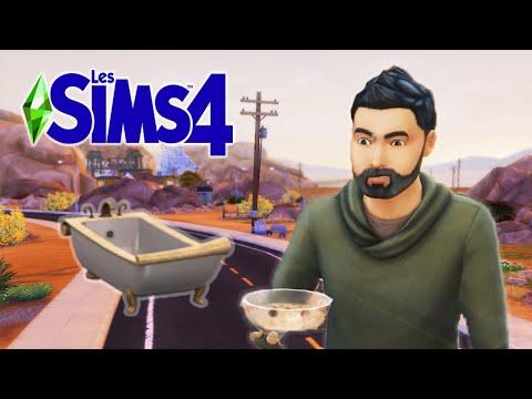 JE VOULAIS JUSTE PRENDRE UN BAIN ! 🛁 - Les Sims 4: Défi Sans-Abri