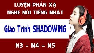 Shadowing Nihongo wo Hanasou - シャドーイング 日本語を話そう 初~中級編