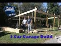 Fanelli Brothers 3 Car Garage Build