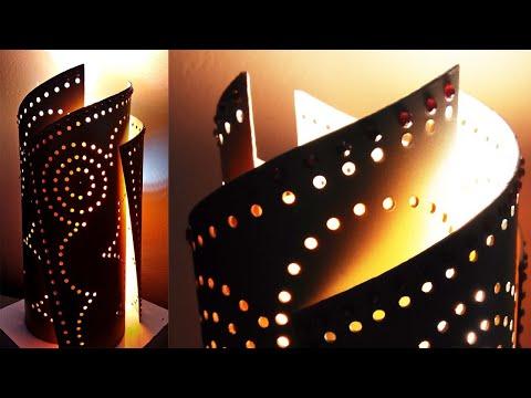 Unique Idea || How to make a PVC Pipe Lamp || Q&S Tube