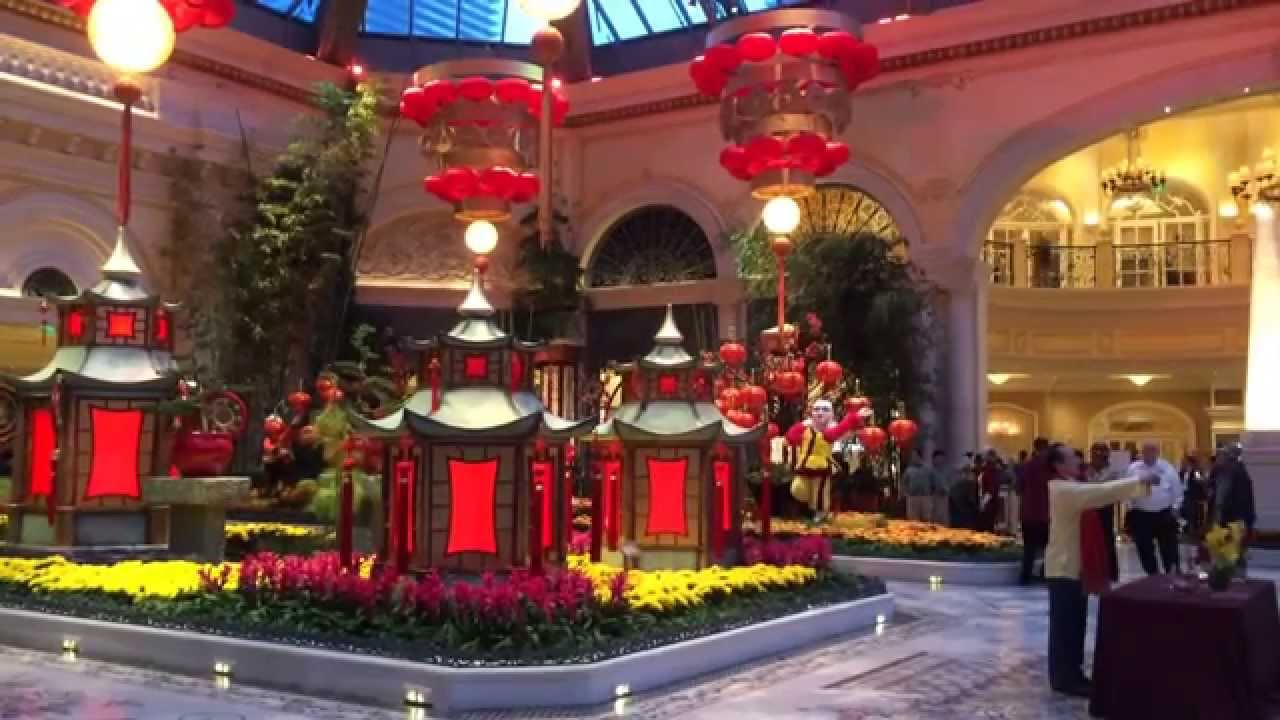 lunar chinese new year blessing ceremony bellagio las vegas 2015 1 9 15 - Chinese Lunar New Year 2015