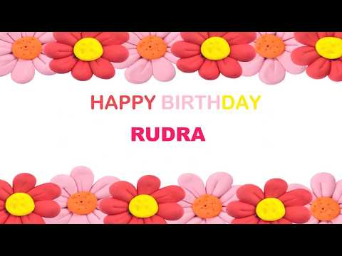 Rudra   Birthday Postcards & Postales - Happy Birthday