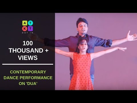 Touching Contemporary Dance Performance on 'Dua' by Medical Student