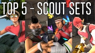 [TF2] TOP 5 SCOUT COSMETIC LOADOUTS!