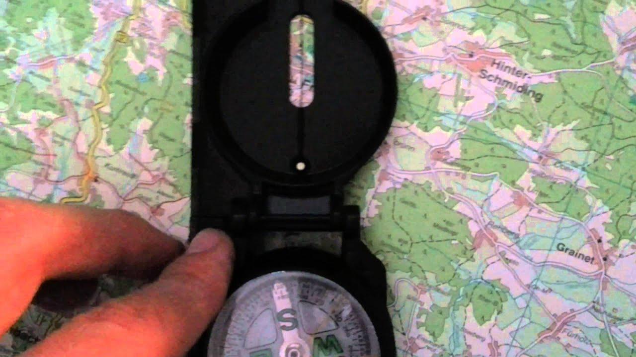 Dealswagen 10x50 Marine Fernglas Mit Entfernungsmesser Und Kompass Bak 4 : Bw kompass youtube