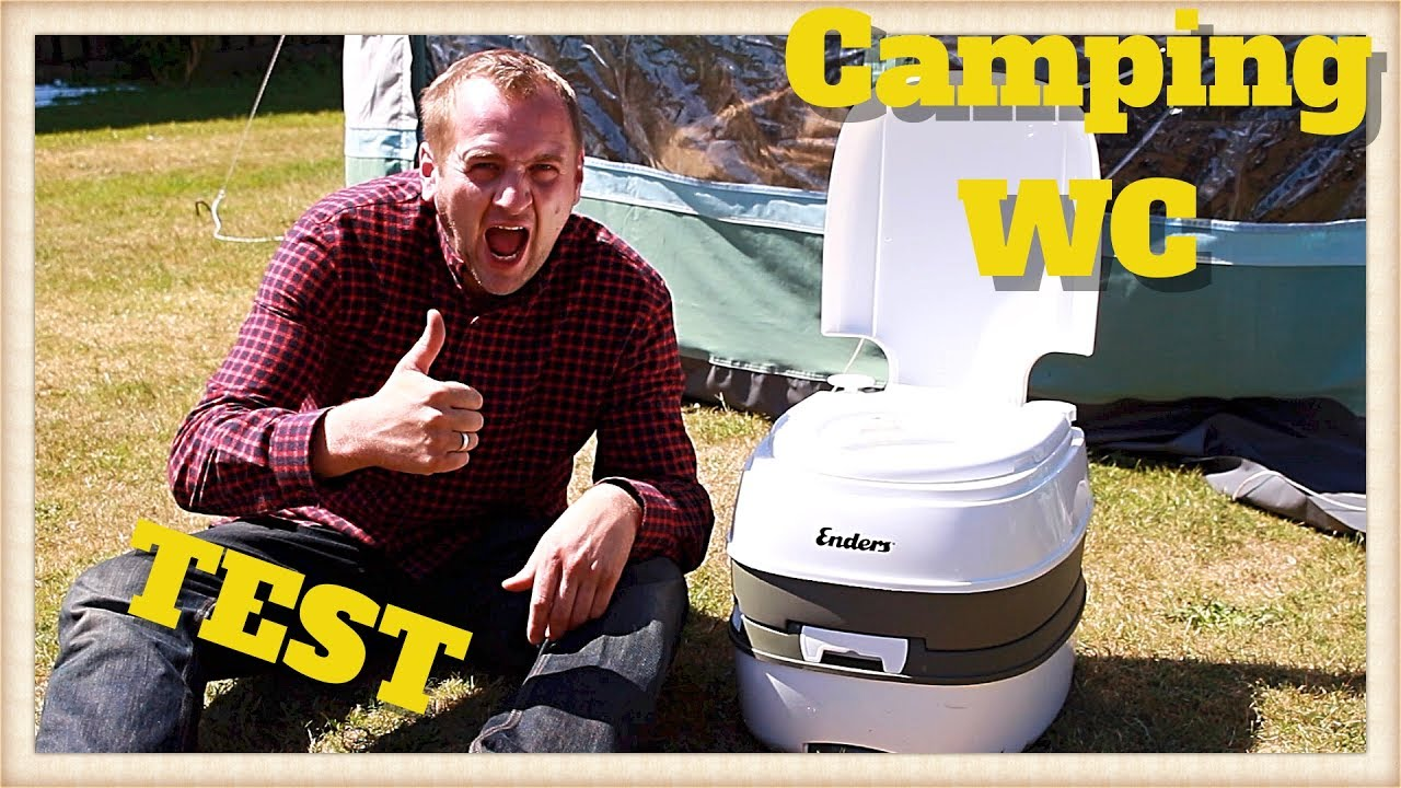 enders camping mobil wc test review deutsch youtube. Black Bedroom Furniture Sets. Home Design Ideas