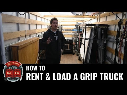 How to Rent and Load a Grip Truck