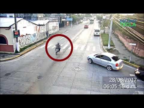 Revelan video de como pandilleros ejecutaron asesinato de policía en Santa Tecla @SilviaHdezTCS