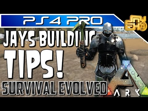 ARK GENERAL PVP BASE DESIGN AND BUILDING TIPS (PS4, XBOX ONE & PC)