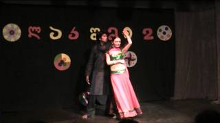 Indian dance group Lakshmi / Popular Indian songs / Anniversary concert / ანსამბლი ლაკშმი / იუბილე