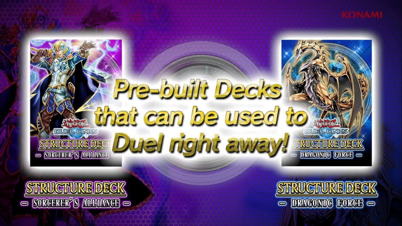Yu-Gi-Oh! DUEL LINKS STRUCTURE DECK - DRAGONIC FORCE -