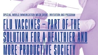 IFPMA - FIP session: How to improve flu vaccine uptake for at-risk groups?