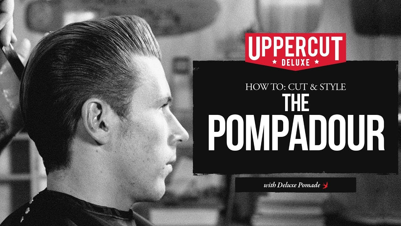 haircut tutorial: how to cut & style - the pomp x uppercut deluxe
