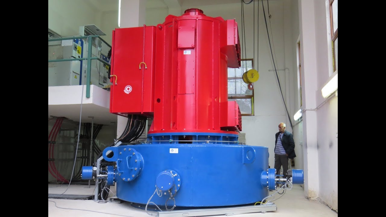 Turn Key Project In Albania  Vertical 1 Mw Pelton Hydro Turbine Constructioned By Siapro