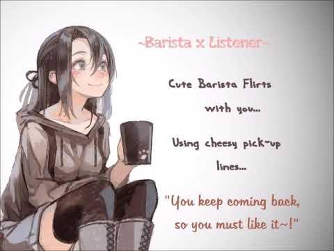 Barista X Listener~ Cute Barista Flirts With You ...