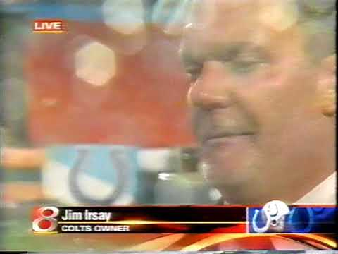 February 4, 2007 - Indy Colts Owner Jim Irsay Interviewed on the Field After Super Bowl Win