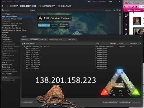 Ark Server Ip Hinzufügen Über Steam Favoriten