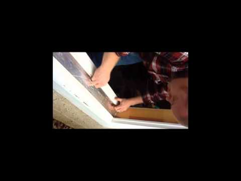 Window Install Double Pane Double Hung Part 1