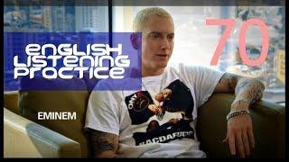 Video Eminem Talks About Meeting Dr. Dre (New Interview 2017) - Improve Your Listening Skills download MP3, 3GP, MP4, WEBM, AVI, FLV Juli 2018
