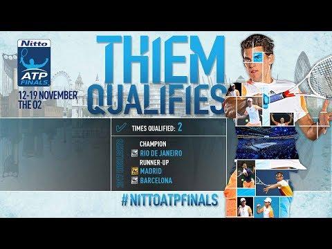 Thiem Qualifies For Nitto ATP Finals 2017