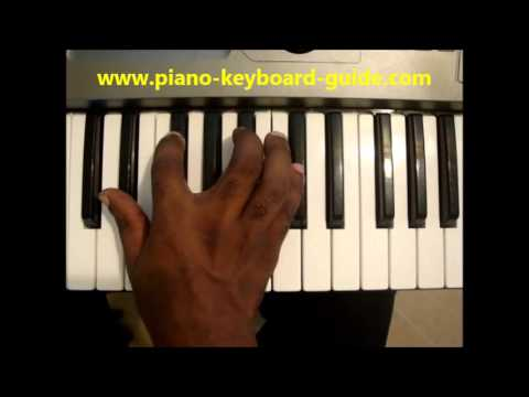 How To Play Ebm7 Chord E Flat Minor 7 Ebmin7 On Piano Keyboard