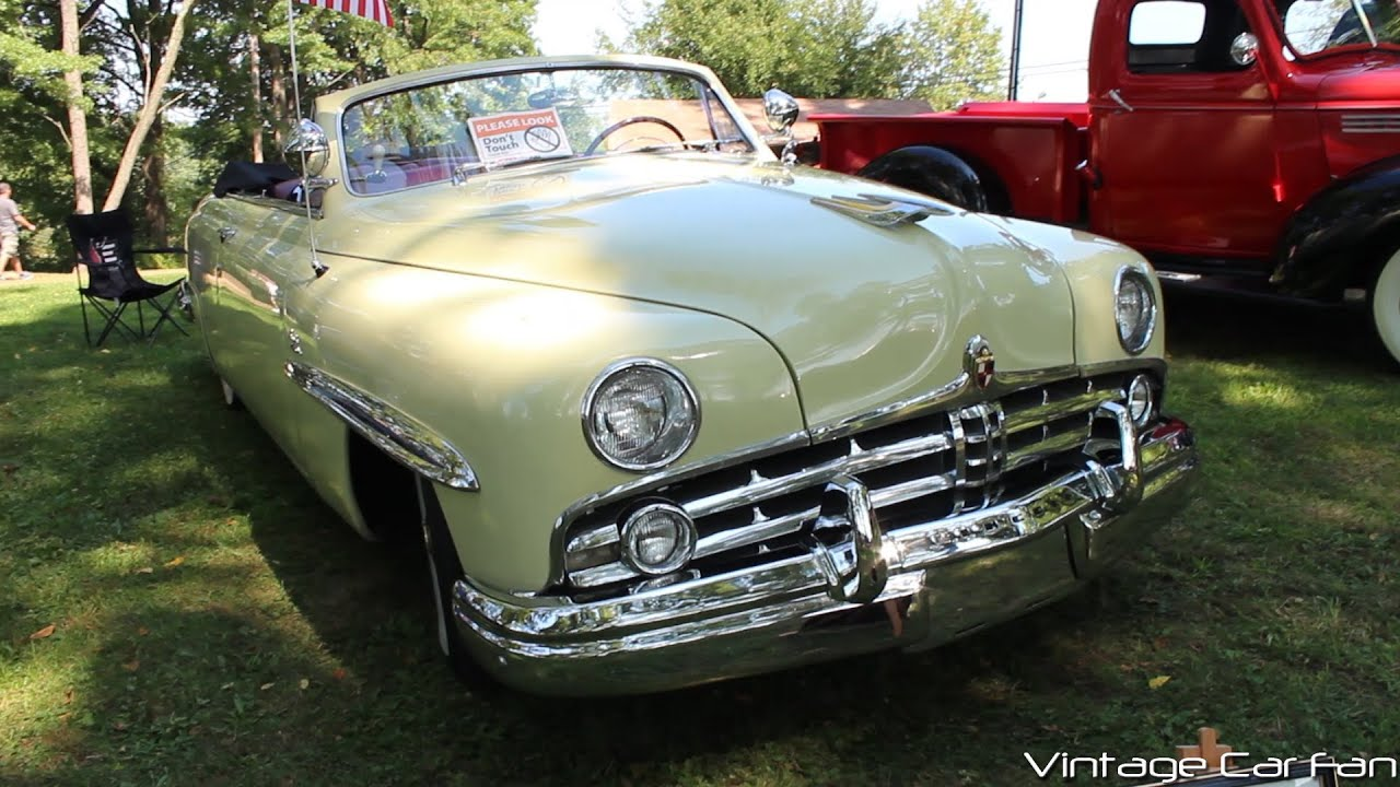 1949 Lincoln Cosmopolitan Convertible Youtube