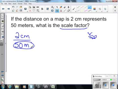 Scale Drawings and Scale Factors 7th Grade Math