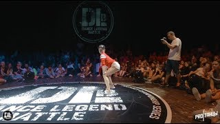 Dance Legend Battle   All styles 1/8 final — Snezhanna vs Fraules