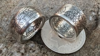 coin ring swedish wrap method vs the fat tire look a side by side comparison