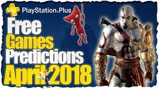 PS Plus April 2018 Predictions - PS4 Free Games Predictions // Playstation Plus