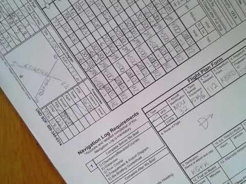 XC Flight Plan Form