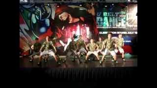 OFFICIAL UBelt 5 Dance Contest, Eliminations - TAGUIG CITY UNIVERSITY, TVTDT CROSOE